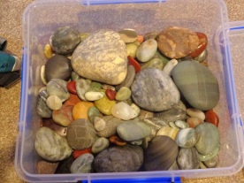 More of the stones I collected.