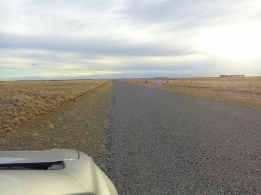 Driving down Bayleys Road, along Kaitorere Spit