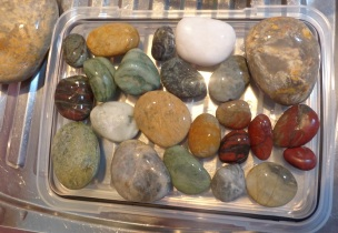 That night, I washed and inspected the stones I had collected.