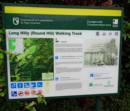 Round Hilly Track information panel.