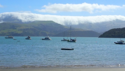 Akaroa clouds