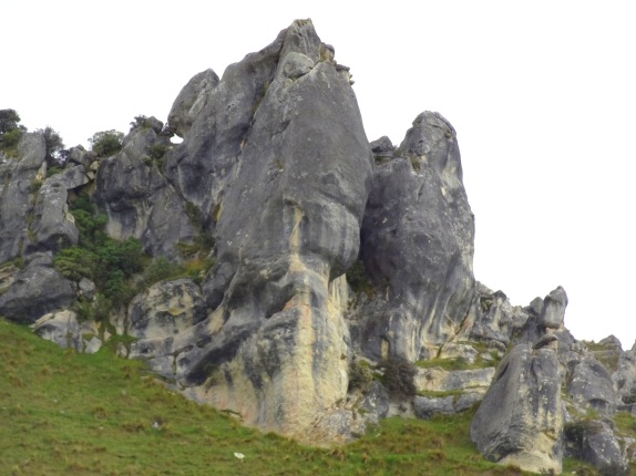 Castle Hill limestone outcrops