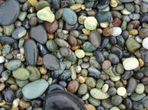 Stones at Gemstone Beach
