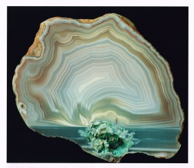 "Banded agate, Stew Point Station, Canterbury - Page 91 of Luxton's (2015) ""Agates of New Zealand"""