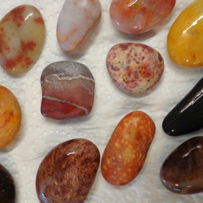 Stones from Slapton Sands