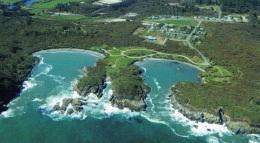 Joyce Bay on left - from a postcard
