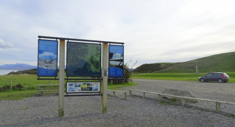 On one side of the information panel is a map of the area