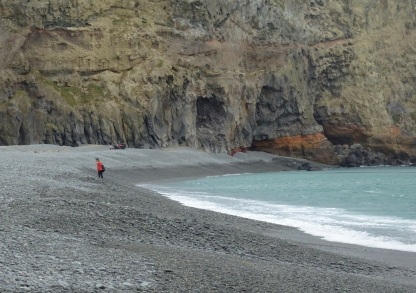 Birdlings Flat beach, the western part of Kaitorete Spit abutting Banks Peninsula