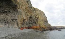 Birdlings Flat beach and Banks Peninsula