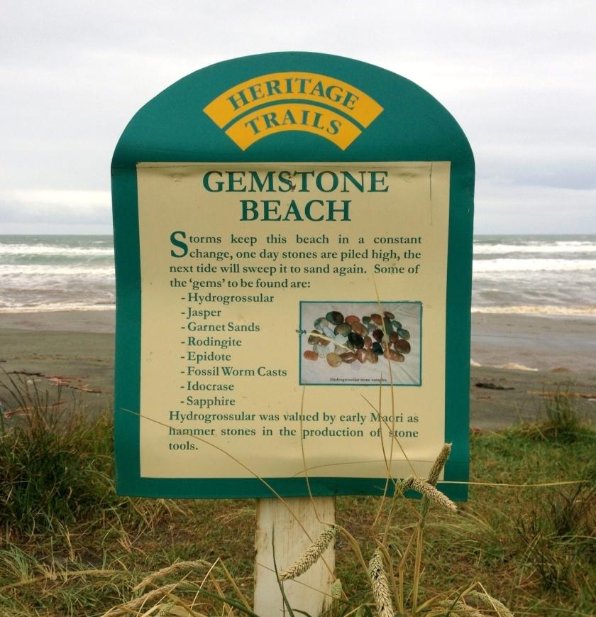 Gemstone Beach Heritage Trail