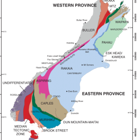 Western and Eastern Geological Provinces of the South Island. Source: https://www.researchgate.net/figure/Map-of-New-Zealand-showing-Western-and-Eastern-Provinces-separated-by-the-Median_fig1_259521484