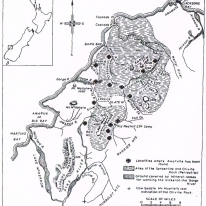 1890 map by Ulrich. Source: Mineralogical Magazine, vol. 43, 1980, page 649