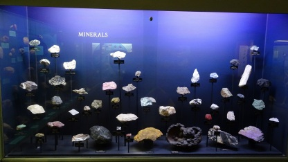 Minerals display, Southland Museum, Invercargill
