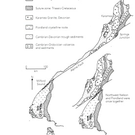 """Jocelyn Thornton (2003), """"The Field Guide to New Zealand Geology"""", page 34"""