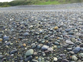 There is no scarcity of stones