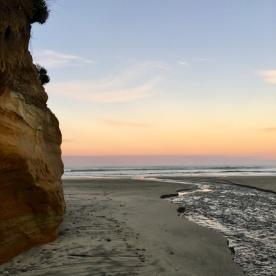 Kay's photo of Taunoa Stream, Gemstone Beach. Source: https://kaymckenziecooke.com/2019/05/09/charmed-place