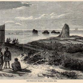 Suagr Loaf Islands in 1860s. Source:https://www.mindat.org/photo-795433.html