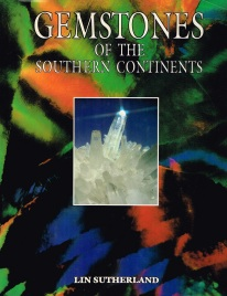 """Cover of Lin Sutherland, 1991, """"Gemstones of the Southern Continents"""""""