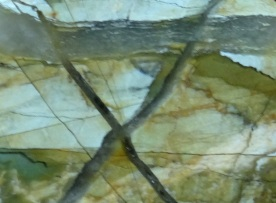 Detail of landscape stone.