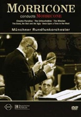 Ennio Morricone and the Munich Radio Orchestra. Source: https://www.amazon.com/Morricone-Conducts-Ennio/dp/B001O0TX3U