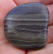 Banded argillitestone, Gemstone Beach