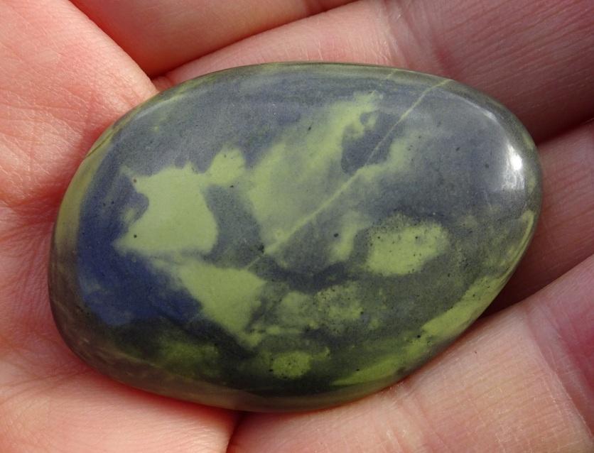 Stone from Gemstone Beach
