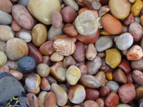 Budleigh Salterton beach stones