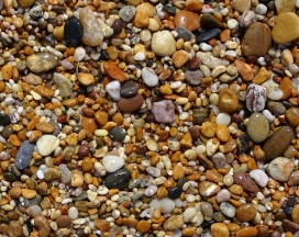 Stones on Slapton Sands