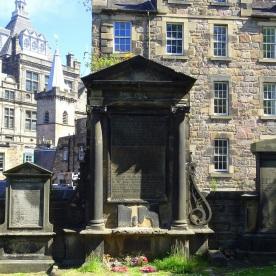 Greyfriars Churchyard.