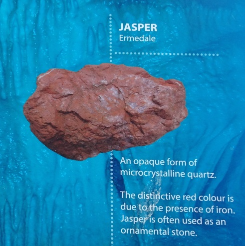 Jasper - Detail of information panel outside Riverton Museum Te Hikoi.