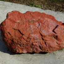 Jasper rock outside Riverton Museum Te Hikoi.