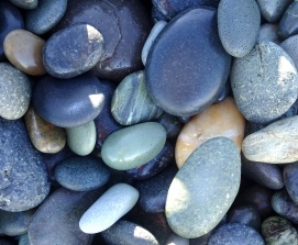 Gemstone Beach stones