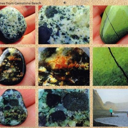 December, Sam's stones (Sam is my sister's grandson)