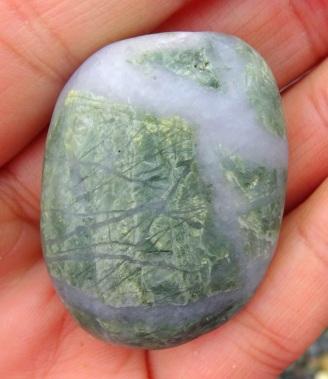 Gorgeous green quartzite.