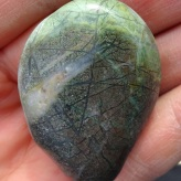 A stunning stone, probably a quartzite.