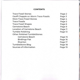 Contents of photo-book.